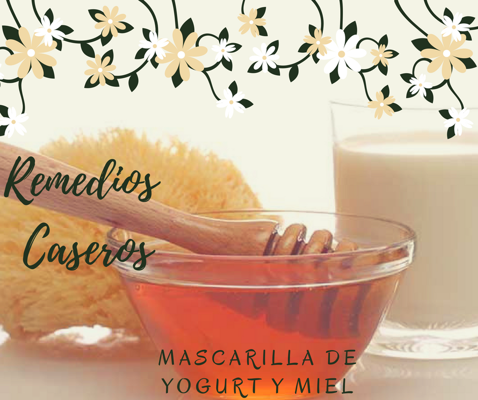 Remedios Caseros MASCARILLA DE YOGURT Y MIEL by Alicia Borchardt