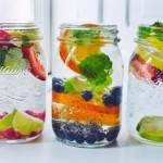 5 Recetas de Agua con frutas para adelgazar.