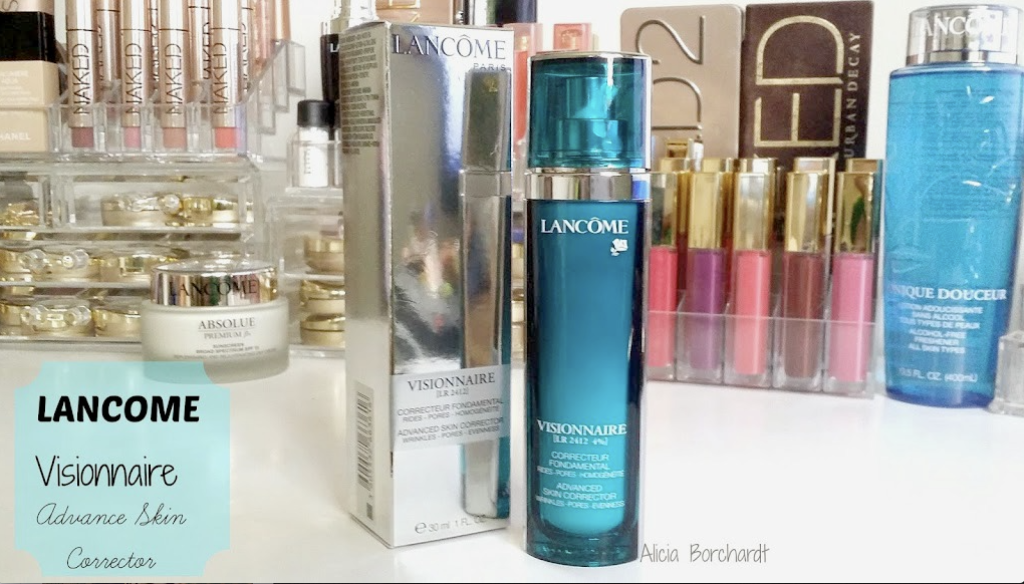 lancome visionnaire skin care blog review
