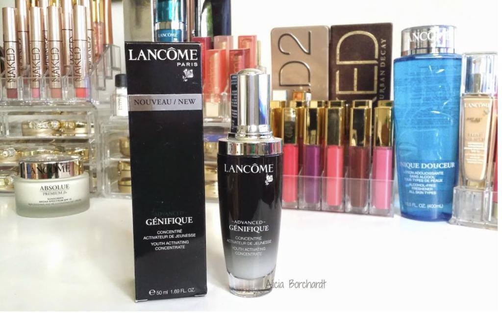 lancome genifique suero anti arrugas reseña blog español
