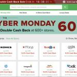 Listos para el Cyber Monday? Obten dinero de regreso por tus compras a traves de Ebates