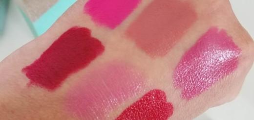 urban decay swatches lipsticks