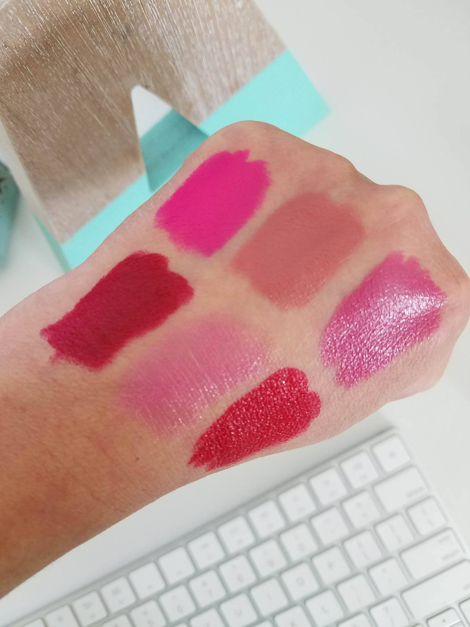 urban decay swatches lipsticks