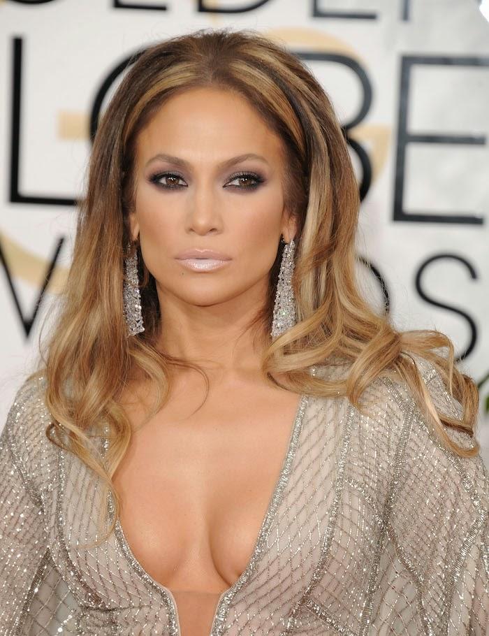 2015 Jennifer Lopez Golden Globes Car Interior Design