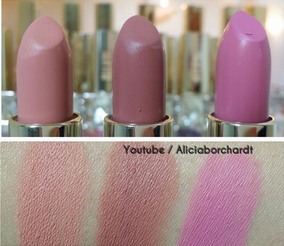 labiales  mate Milani cosmetics by Alicia Borchardt