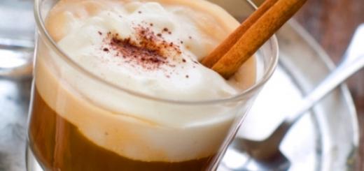 horchata con cafe