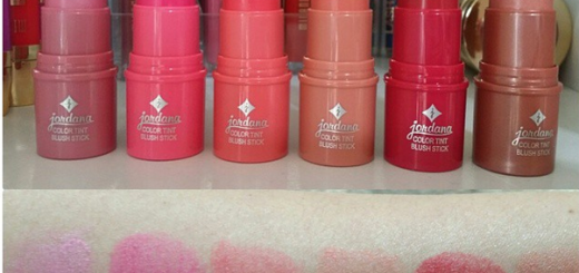 jordana cosmetics color tint blush stick