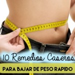 10 remedios caseros para bajar de peso rápido.
