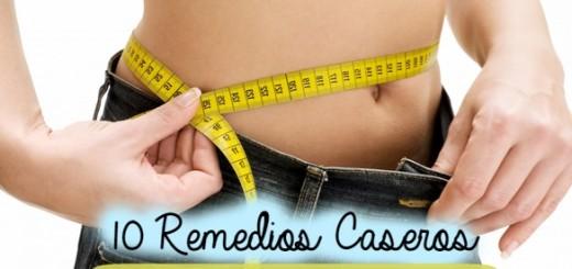 10 remedios caseros para bajar de peso rapido