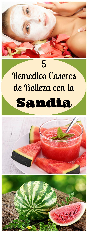 5 remedios caseros en la belleza con la sandia by aliciaborchardt