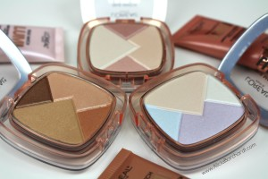 loreal lumi true match powder glow iluminator reseña swatches español blog