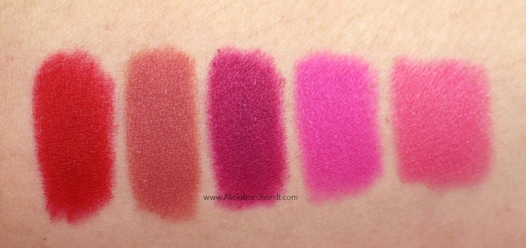 swatches labiales loreal matte