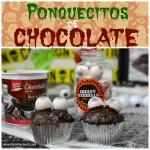 Cupcakes de Chocolate Halloween