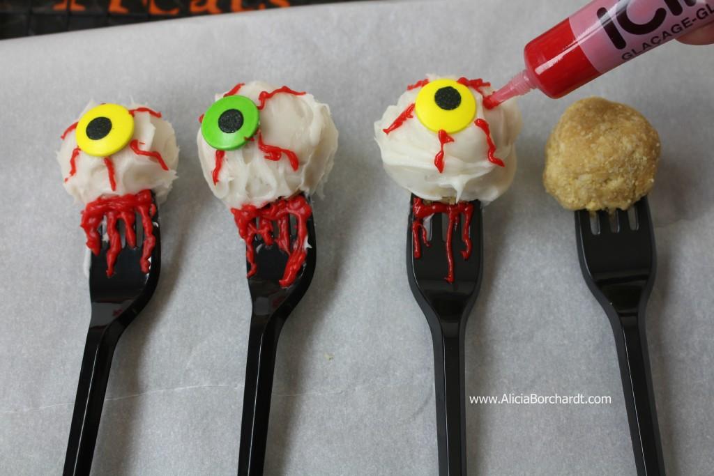 postres para niños en halloween