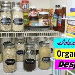 5 Ideas para organizar la despensa