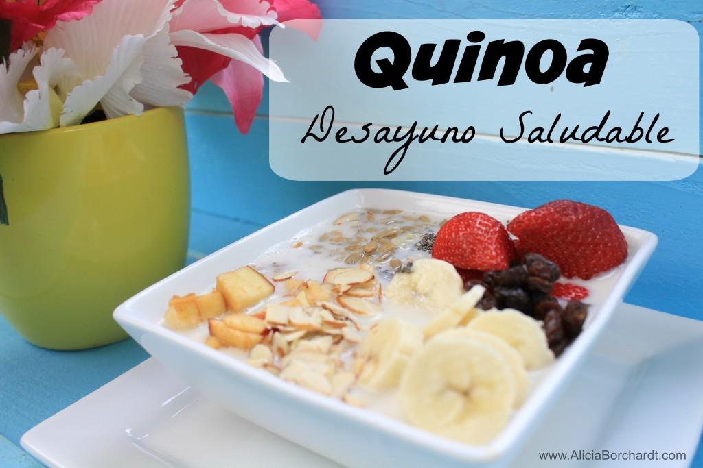 como hacer quinoa desayuno saludable