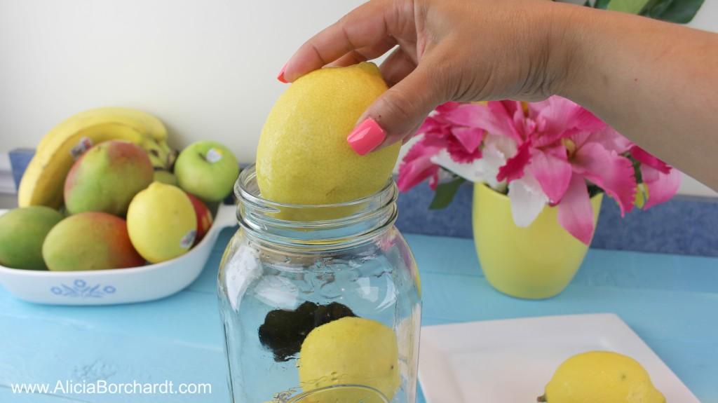 almacenar los limones