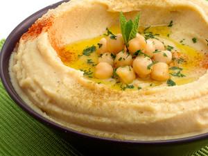 crema de garbanzo hummus