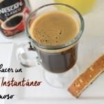 Como hacer café Instantáneo + Sorteo concierto de Ricky Martin