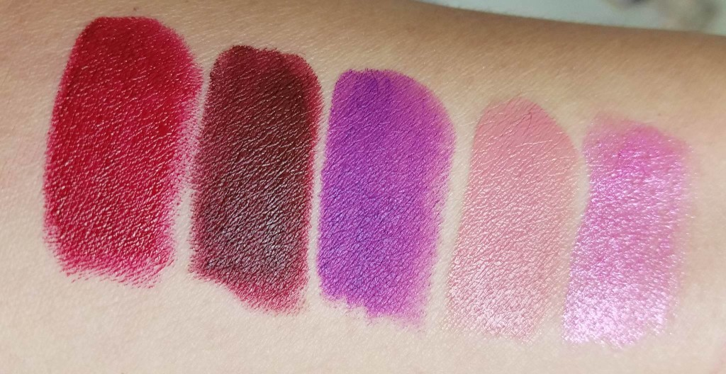 swatches urban decay vice lipstick collection