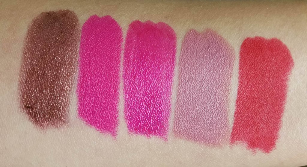 swatches labiales urban decay vice blog español