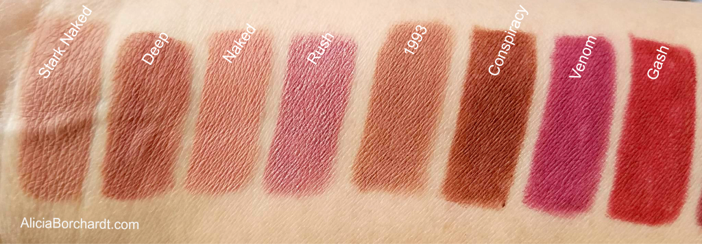 DELINEADORES urban decay swatches blog español