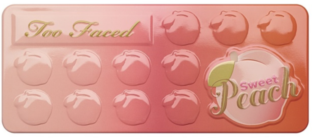 reseña español paleta too faced sweet peach blog