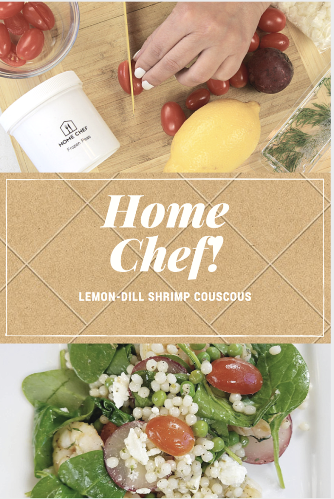 home chef lemon dill shrimp couscous blog review