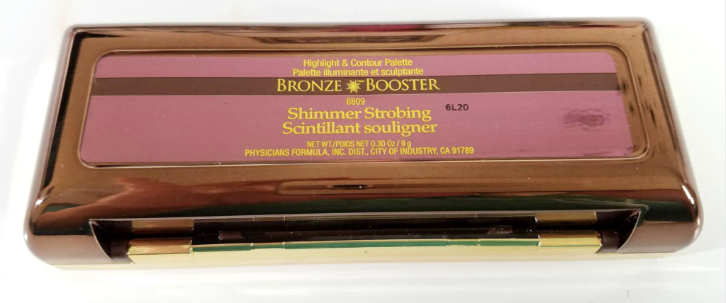 physicians formula bronze booster shimmer strobing review palette