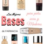 Bases de Farmacia para pieles SECAS y MADURAS