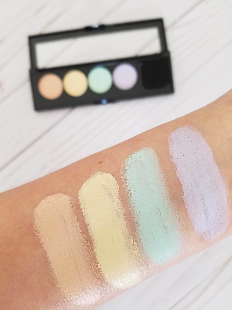 loreal infallible color correcting palette by alicia borchardt