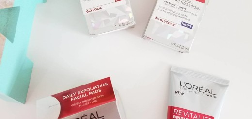 loreal revitalift bright reveal blog review by Alicia Borchardt