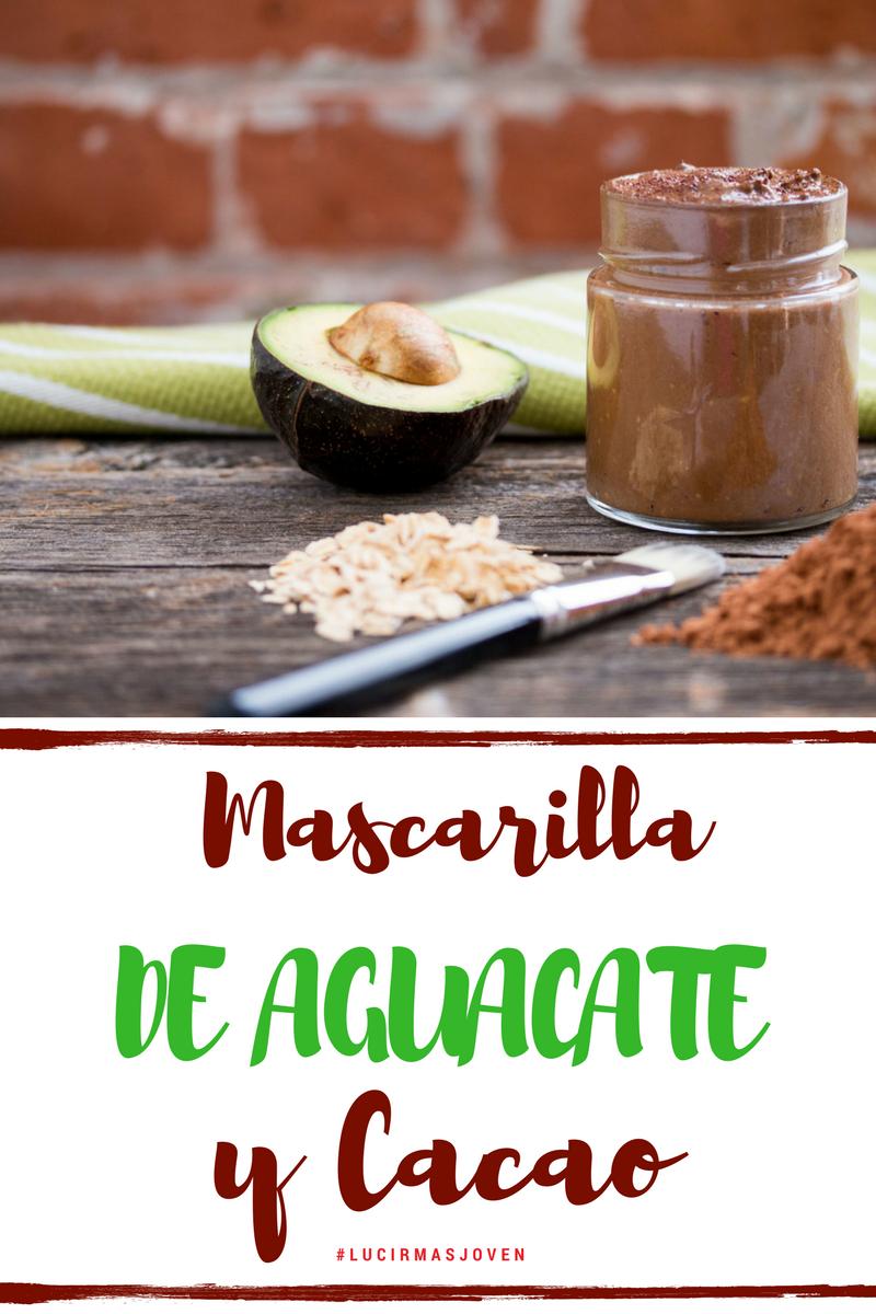mascarilla casera natural - de aguacate y cacao by Alicia Borchardt