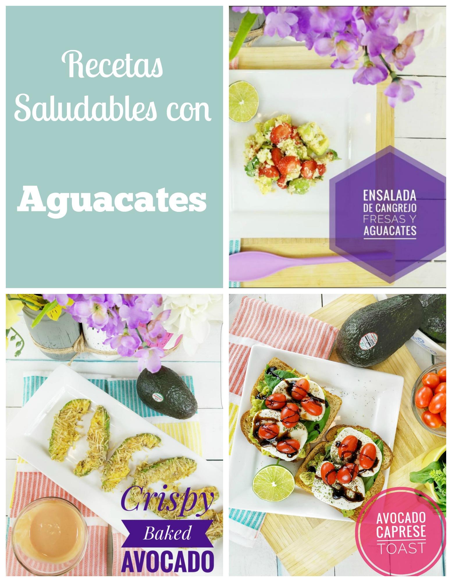Recetas saludables con aguacates
