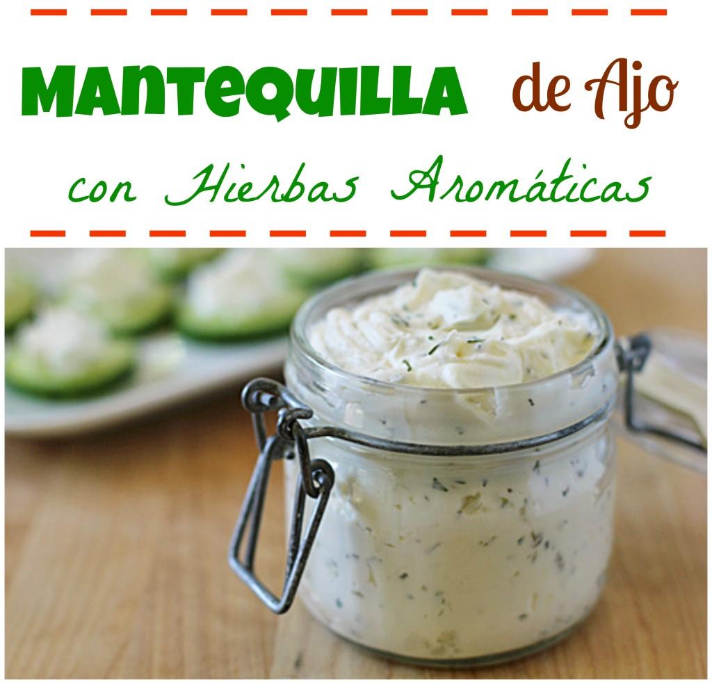 Mantequilla-de ajo-con hierbas aromaticas-hecho en casa-by aliciaborchardt