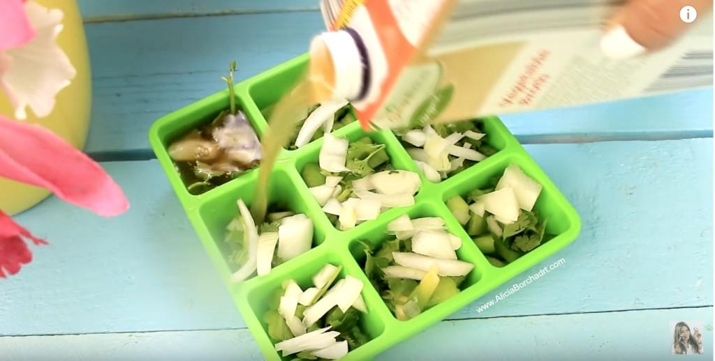 Truco casero con Moldes de caldo de vegetales by aliciaborchardt