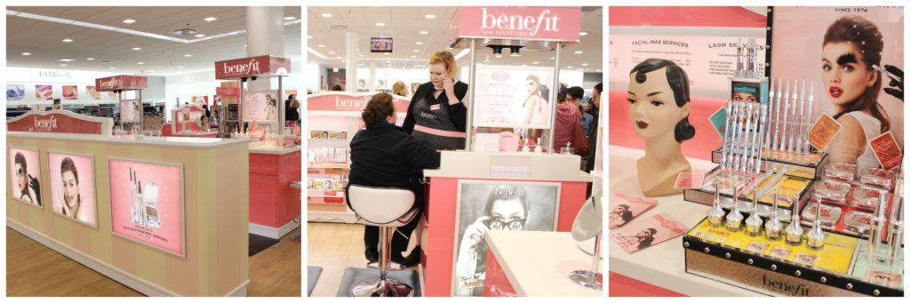 Ulta beauty servicios cejas benefit cosmetics