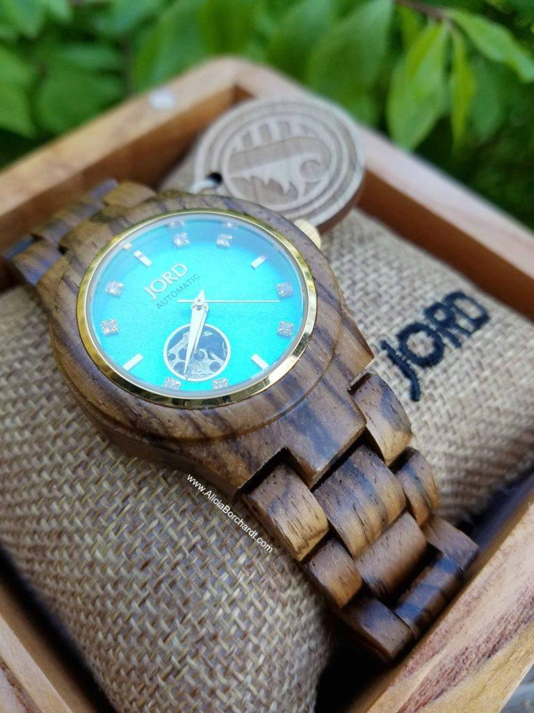 JORD relojes de madera hechos a mano en USA