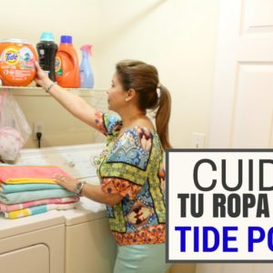 cuida tu ropa con detergente tide pods reseña blog