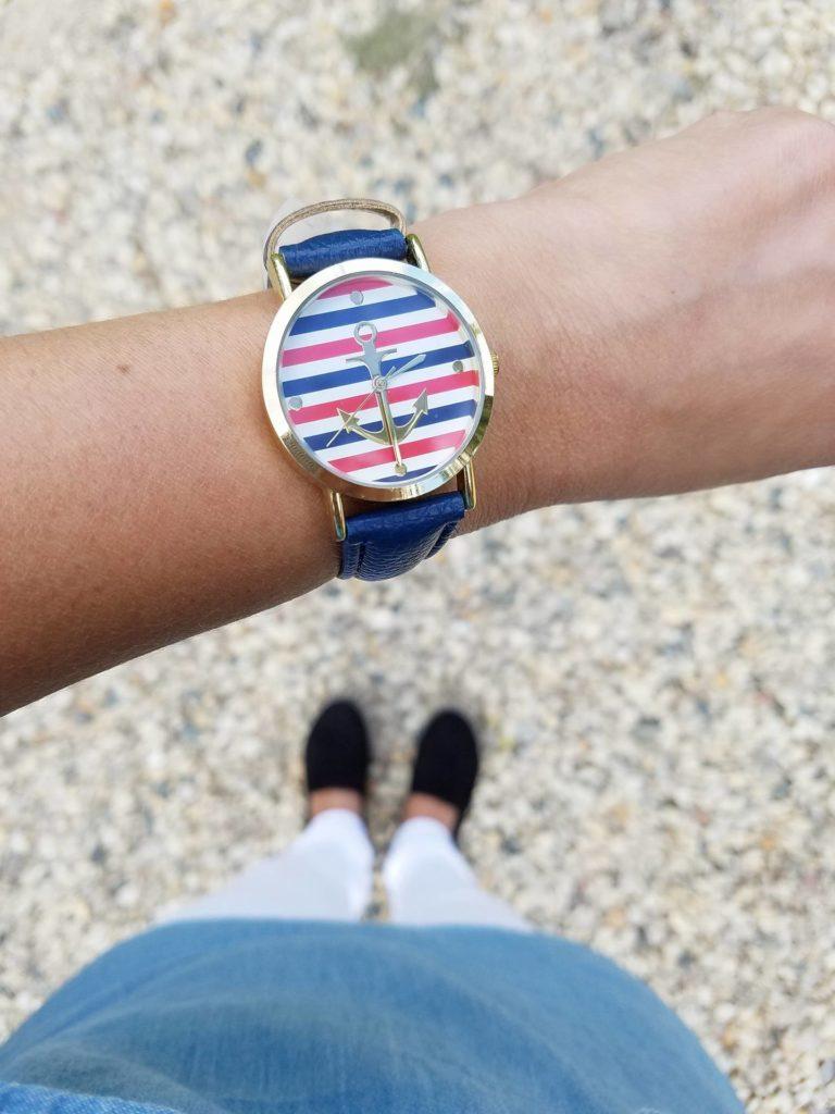 reloj nautico deportivo para mujer. Como lucir mas joven al vestir