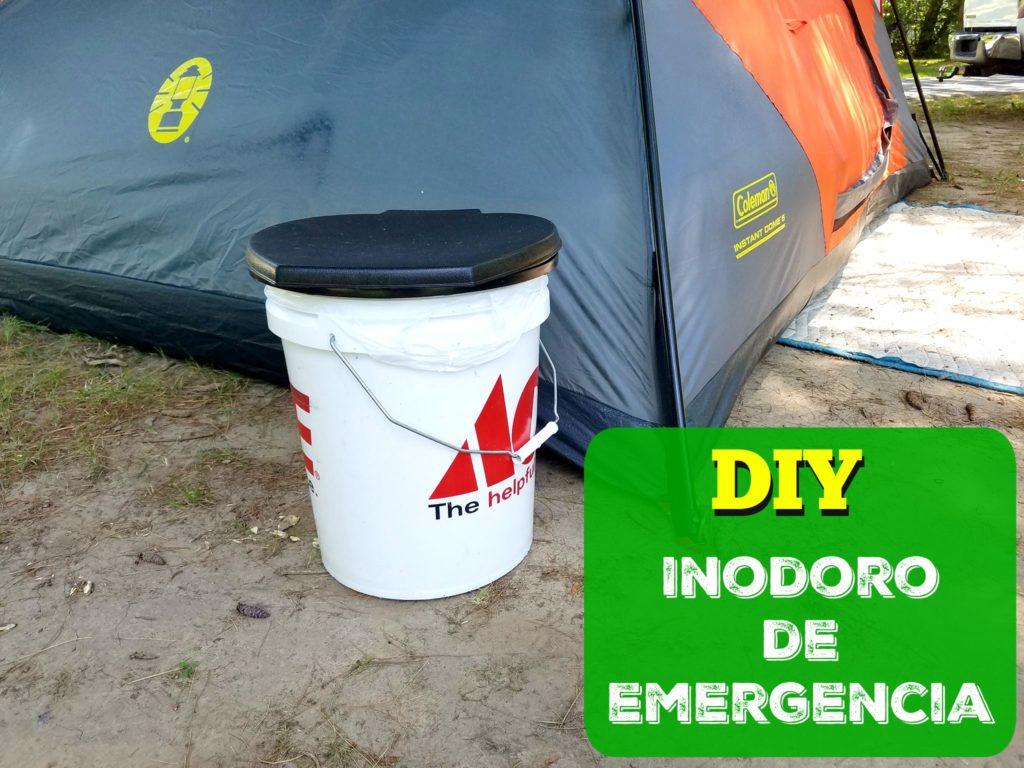 DIY Como hacer un inodoro de Emergencia. Camping viajes largos