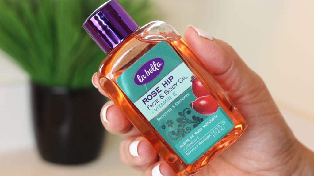 La Bella Rose Hip Face & Body Oil with vitamine E