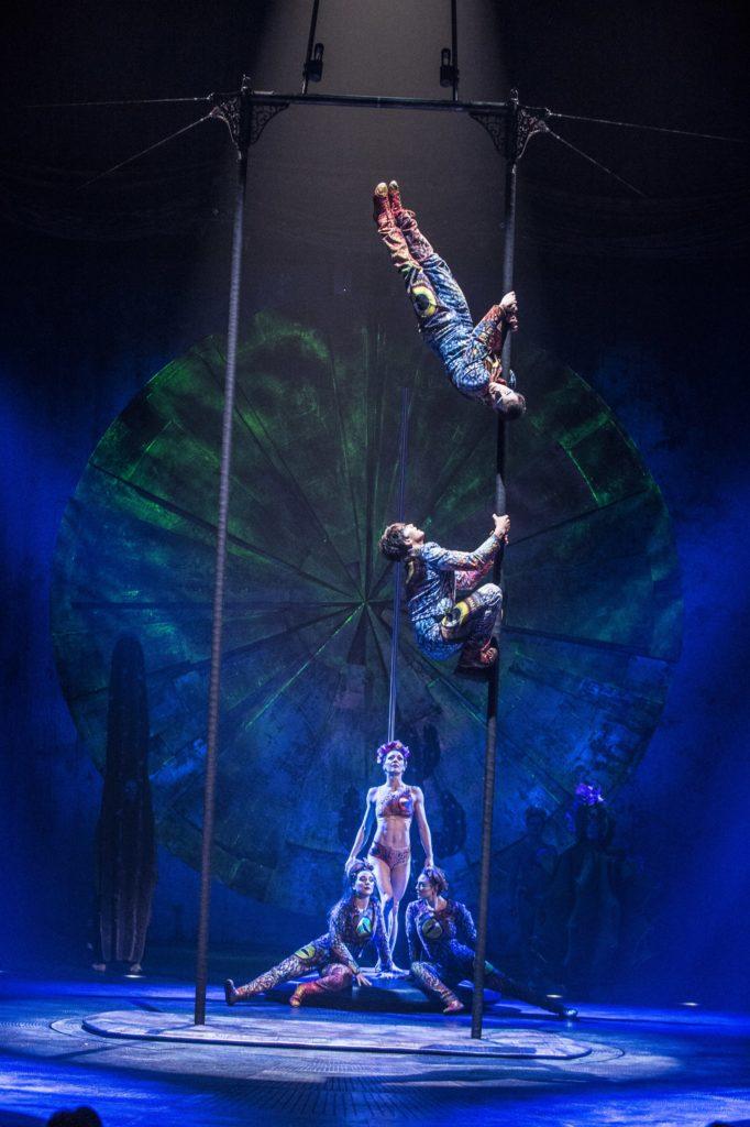 Cirque du soleil luzia show