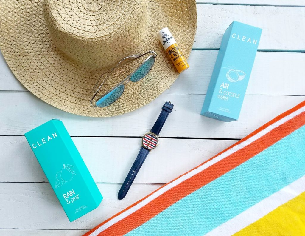 Clean Eau Fraiche summer collection blog review