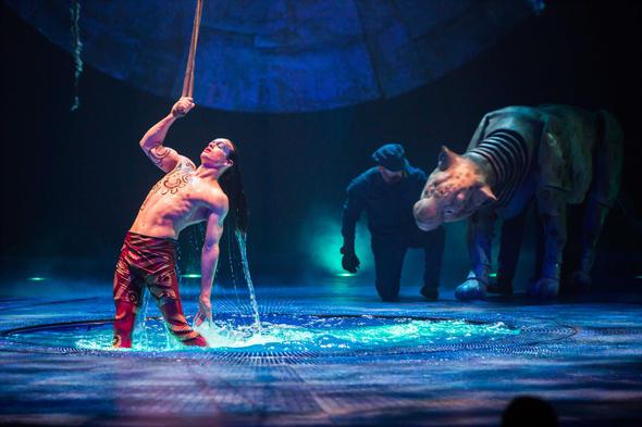 Cirque du Soleil LUZIA water show Chicago by Alicia Borchardt