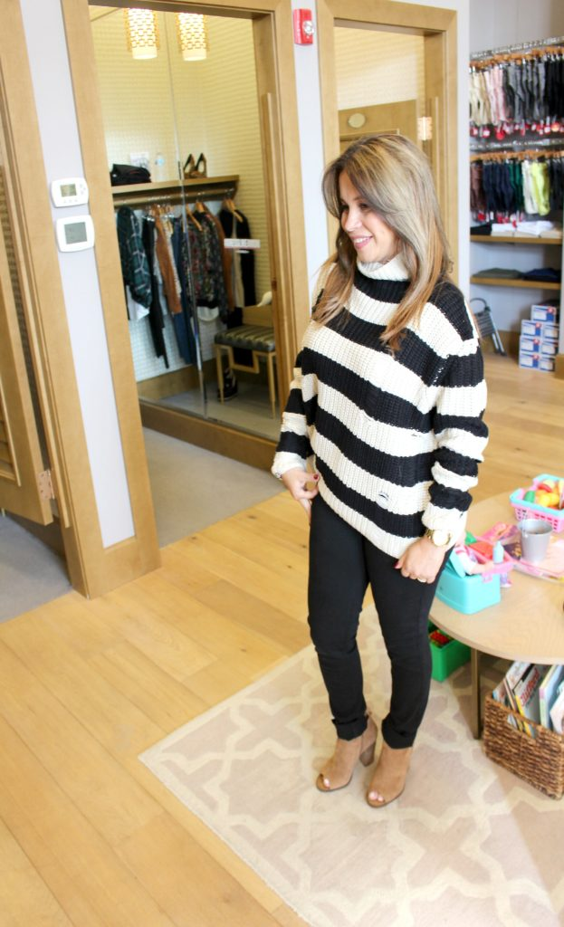 Evereve cozy sweater fall and winter trend