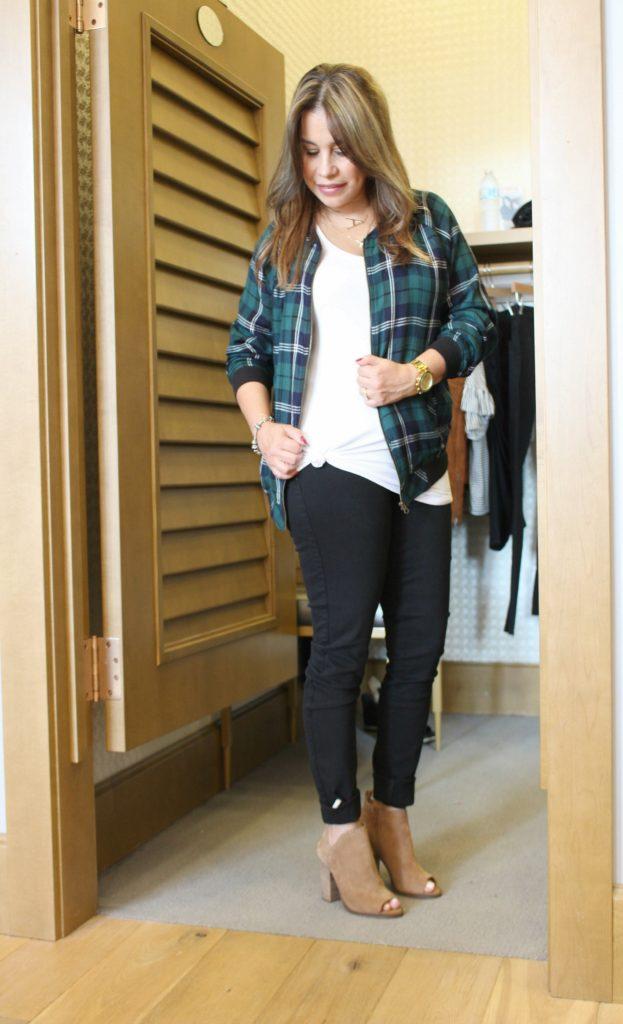 Evereve trendy flannel