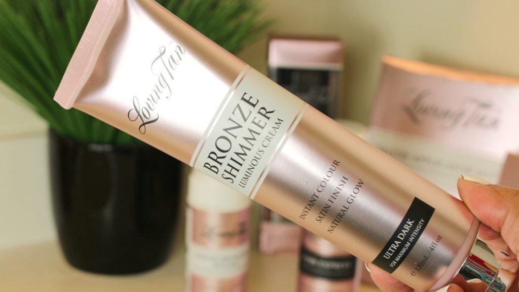 Loving Tan Bronze Shimmer Luminous Cream Ultra Dark Natural Glow