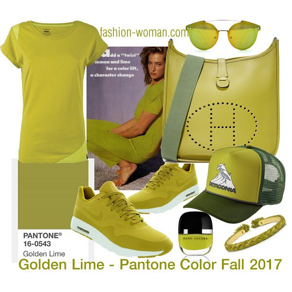 PANTONE 16-0543 Golden Lime