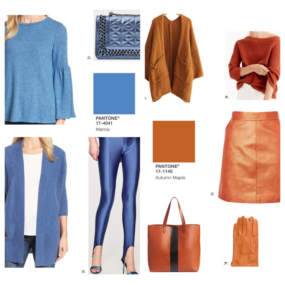 PANTONE 17-4041 Marina tendencia color de moda otono 2017